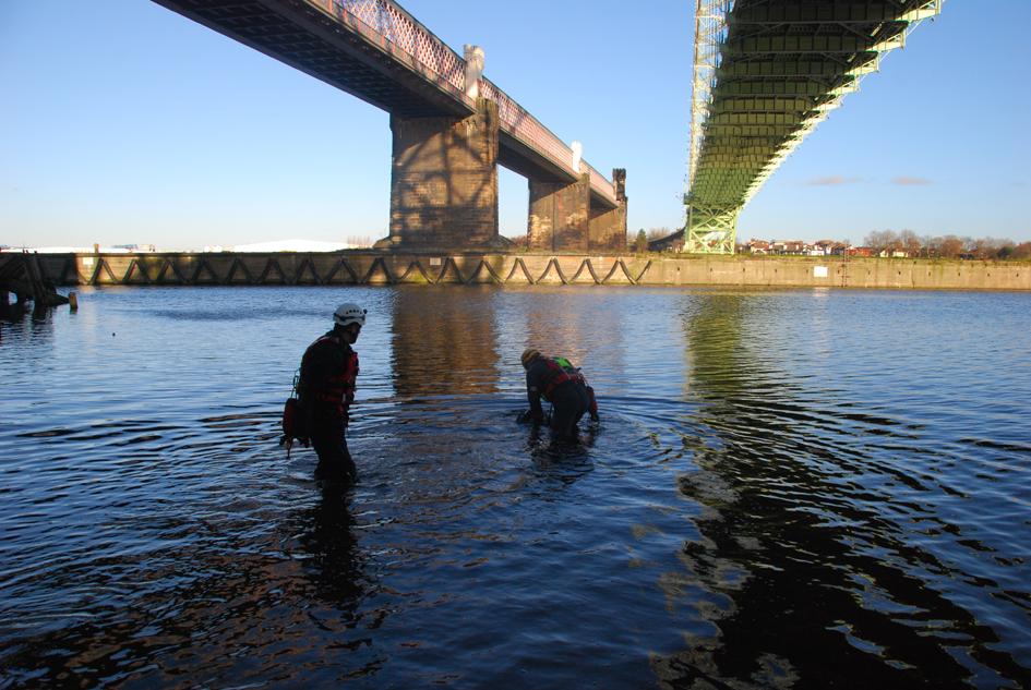 MST at Runcorn Bridge