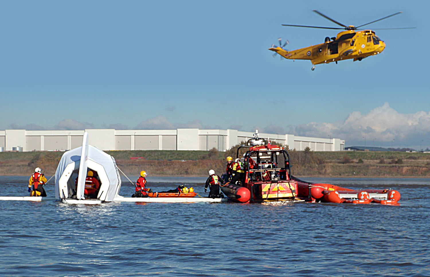 MST Aircraft to water training