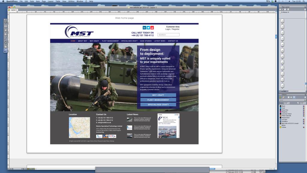 MST new website