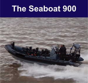 The Seaboat 900 on display at DSEi 2017