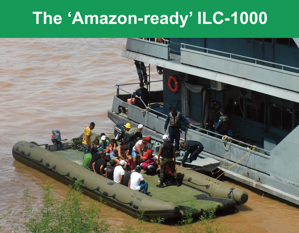 MST's ILC-100 excels at Amazonlog 2017 exercise