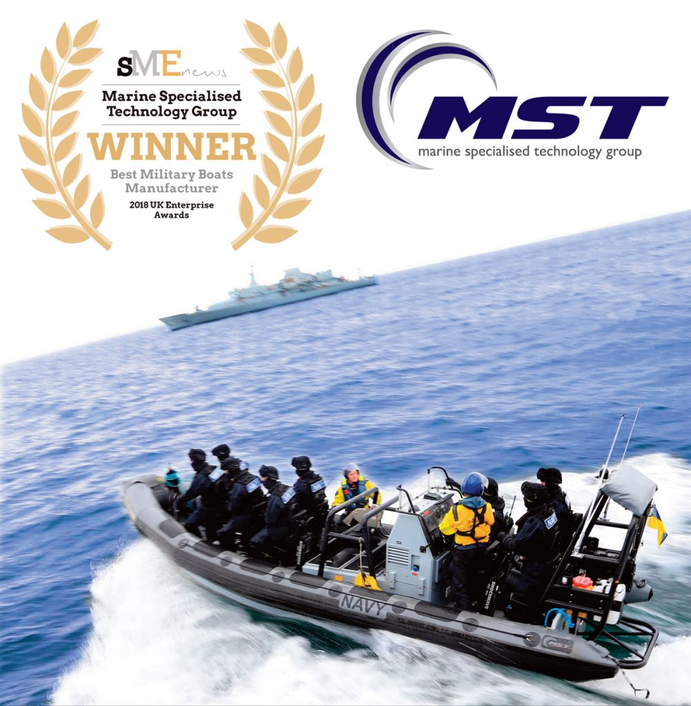 MST SME News Award Best Military Boats Manufacturer